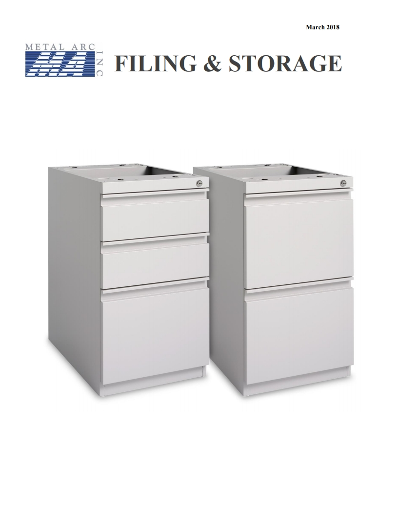 OFFICE FURNITURE FILING AND STORAGE CATALOG MARCH 2018