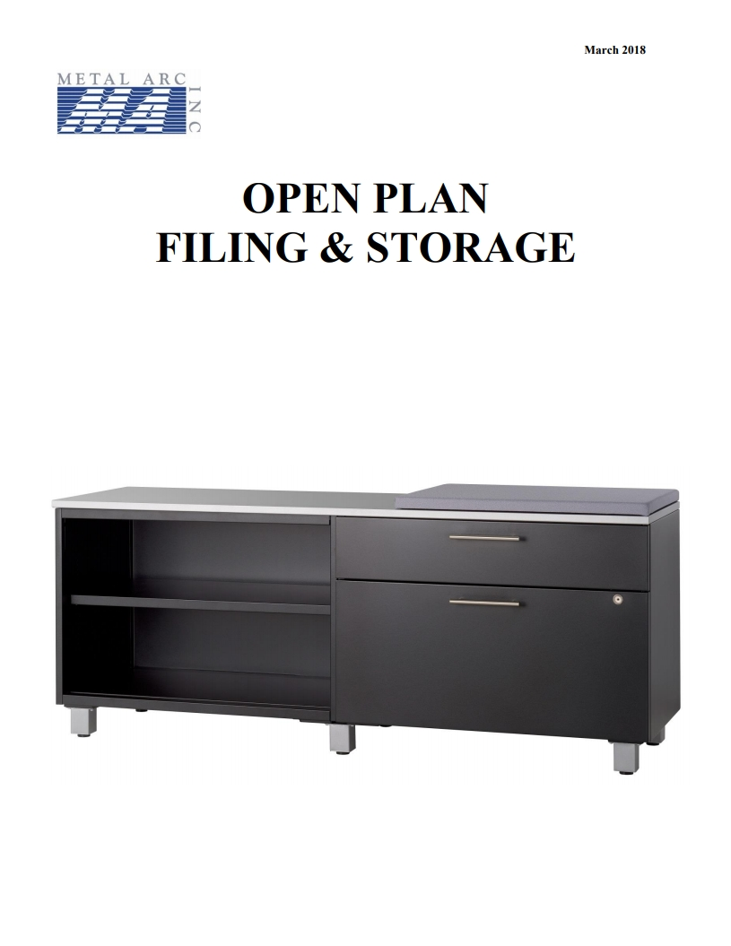 OPEN PLAN CATALOG MARCH 2018