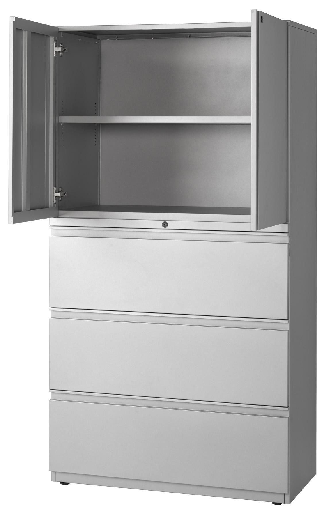 Storage Cabinet Lateral File Combination Cabinets Slfs