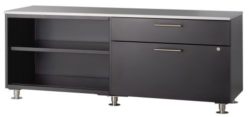 AK 60w Credenza with Round Legs and Top